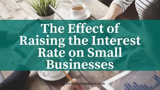 Raising the Interest Rate
