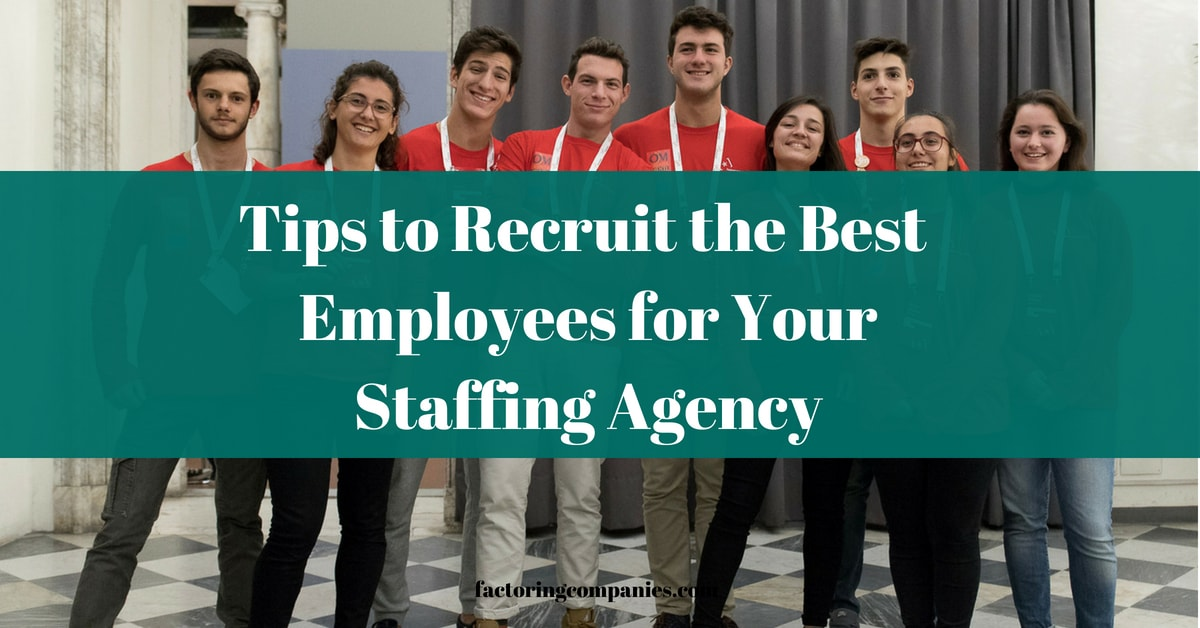 recruiting for staffing agencies