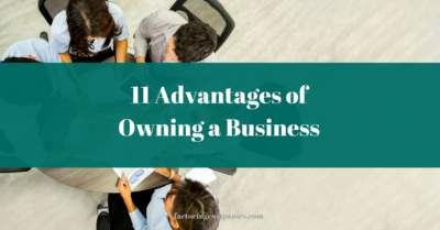 benefits of owning a business